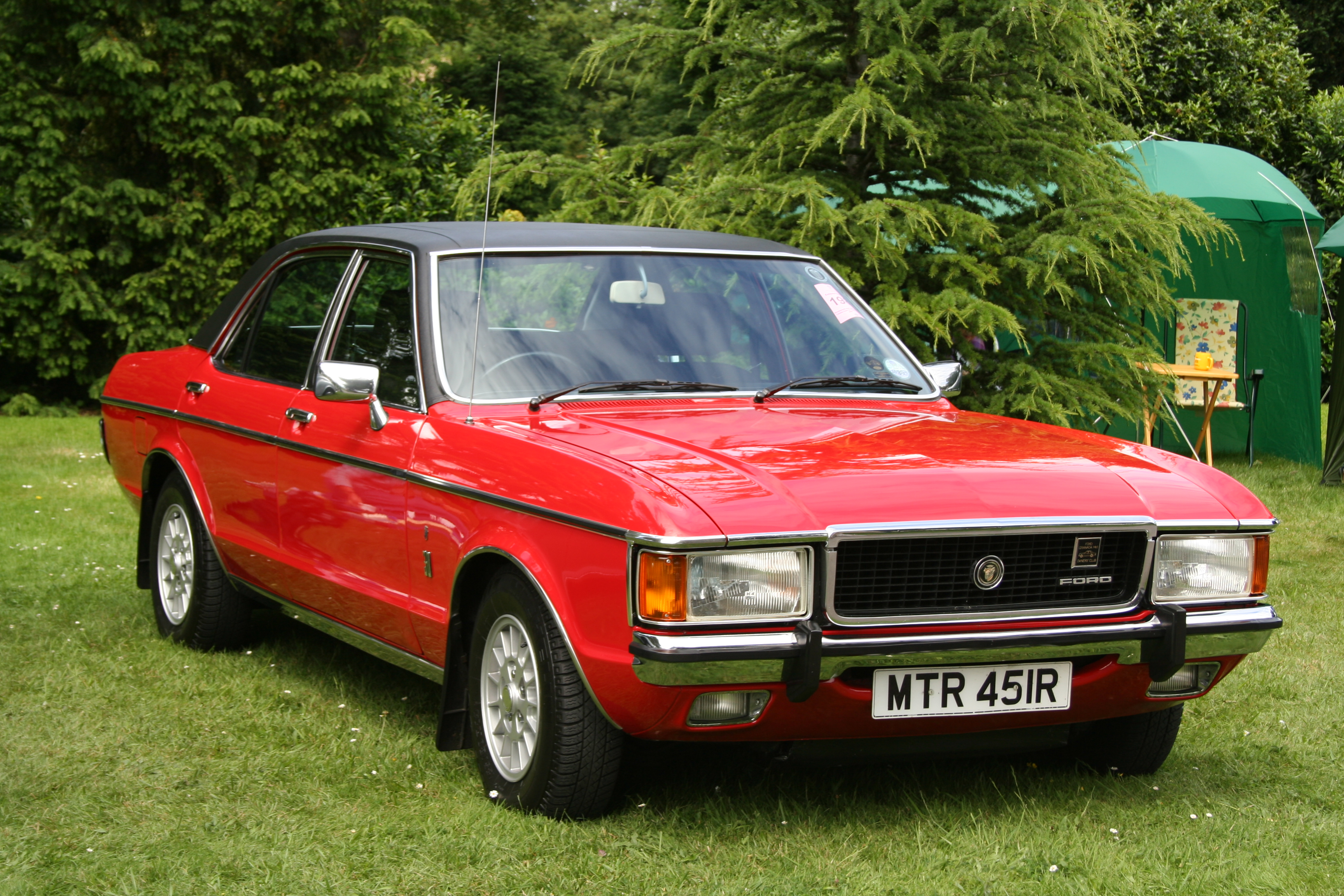 ford wallpaper (Ford Granada)