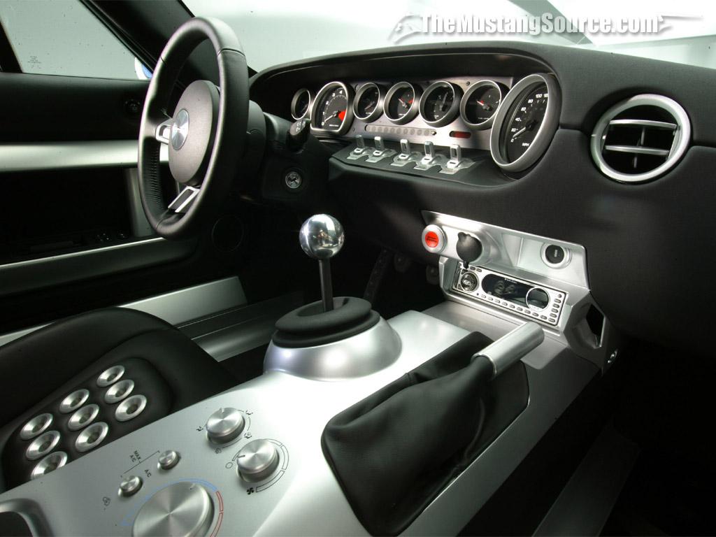 FORD GT 40 interior