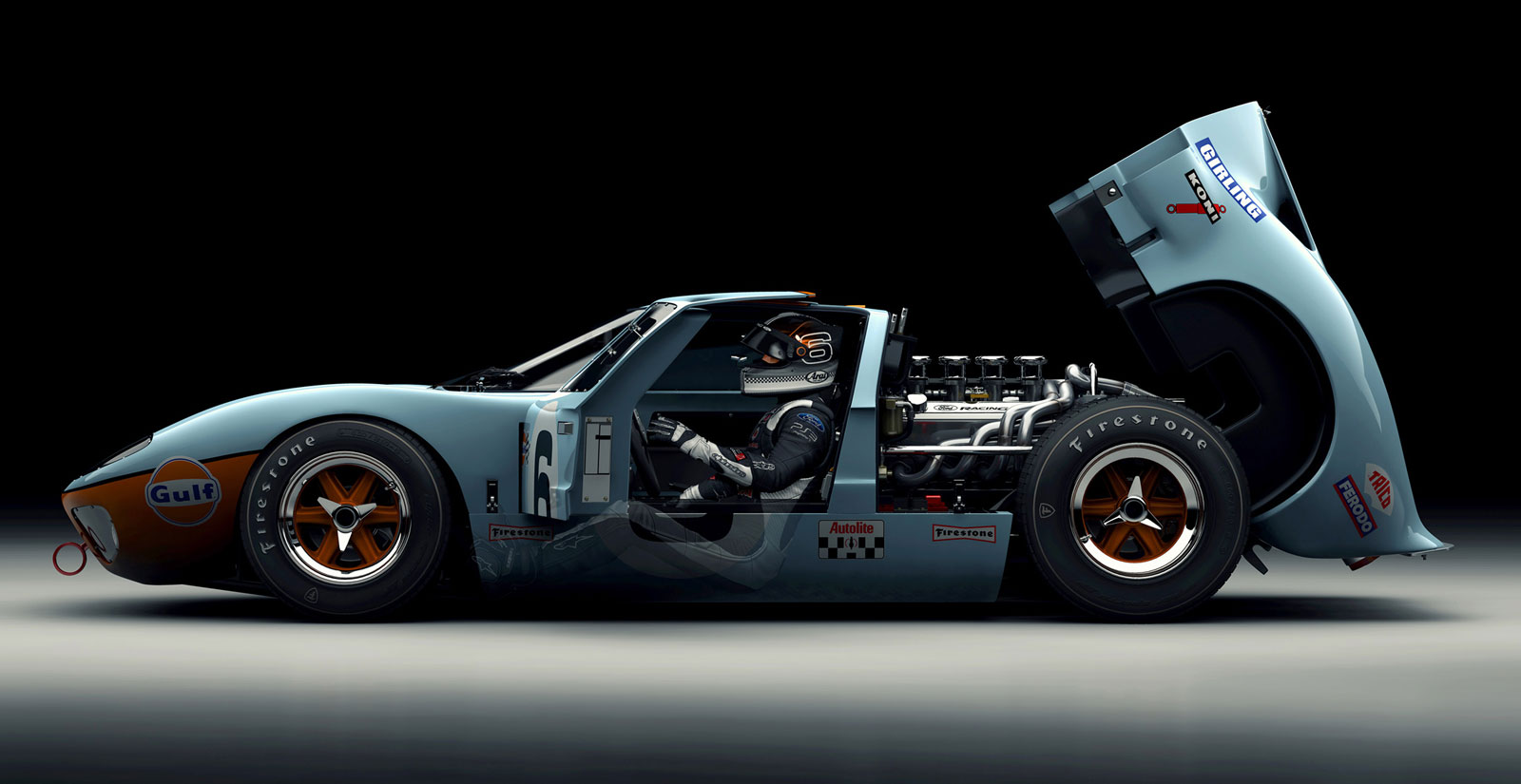 New Ford GT40, Porsche 718 Denied, Jeep Grand Wagoneer - Fast Lane ...