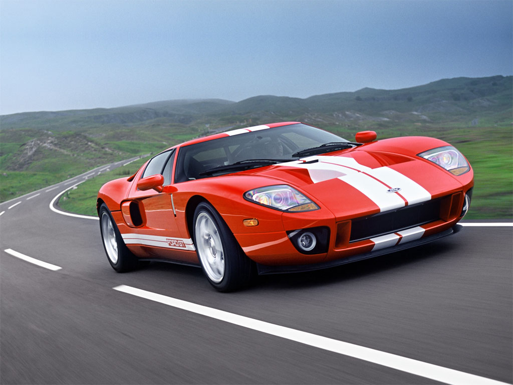 FORD GT 5.4 green