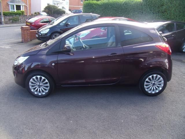 FORD KA brown