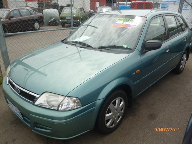FORD LASER green