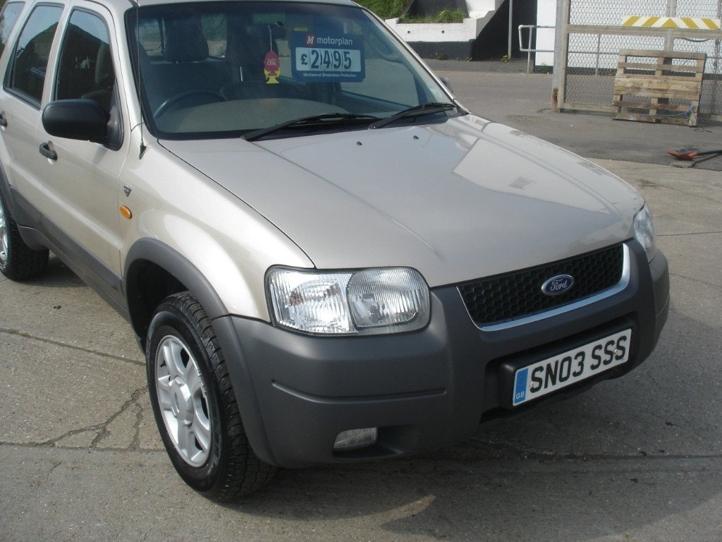 FORD MAVERICK 4X4 silver