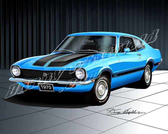 FORD MAVERICK blue