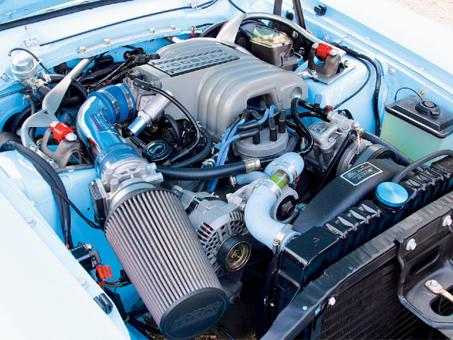 FORD MAVERICK engine