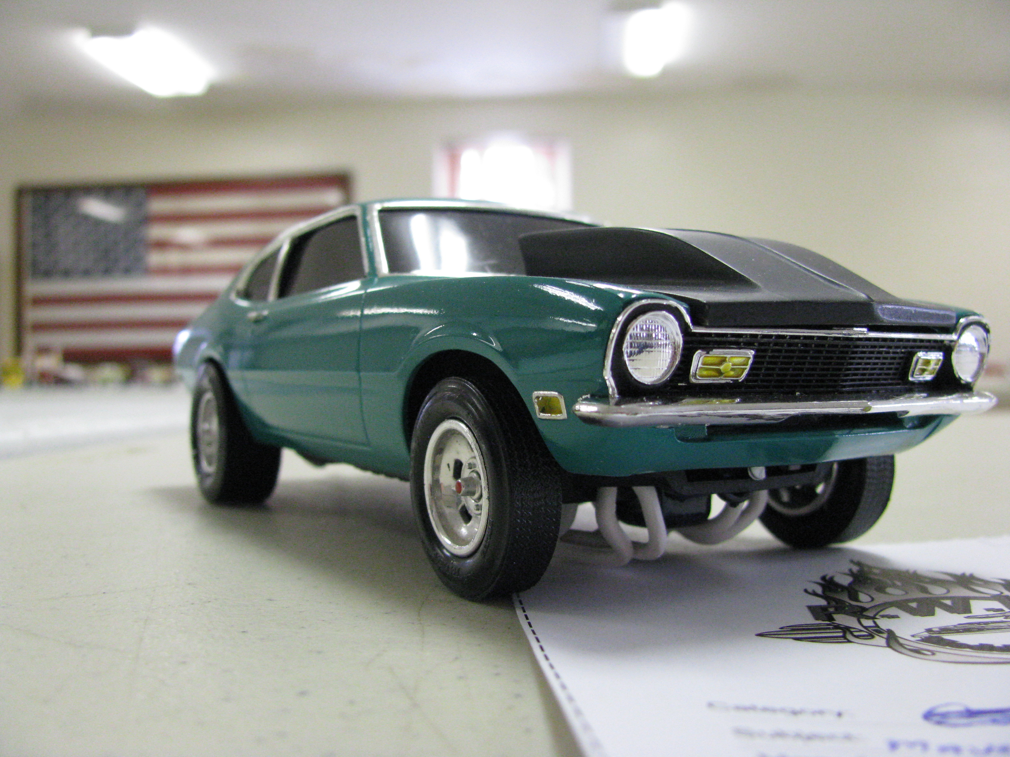 FORD MAVERICK green