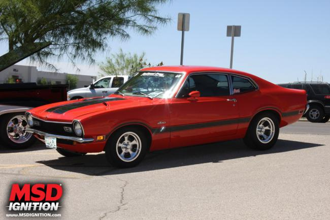 FORD MAVERICK red