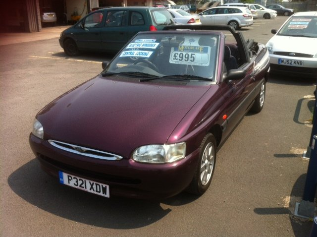 FORD ORION 1.6I red