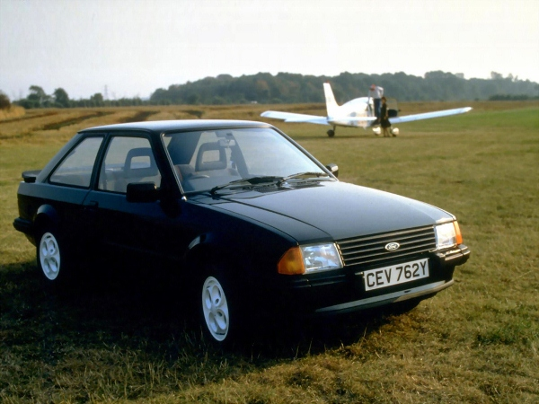 FORD ORION silver