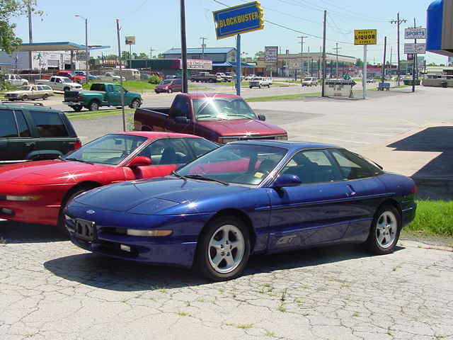 FORD PROBE blue