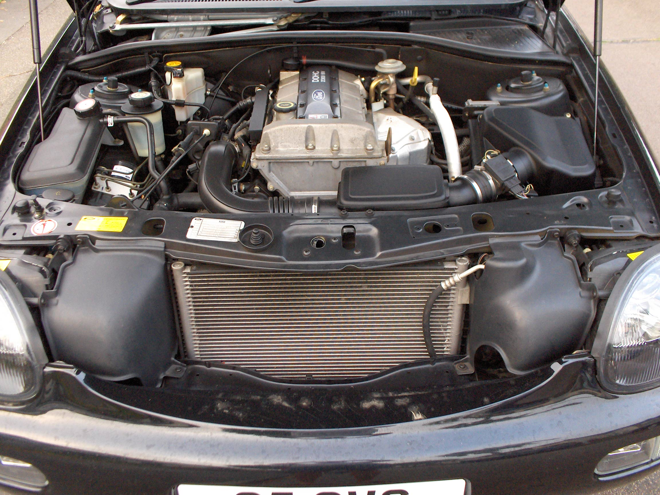 FORD SCORPIO engine