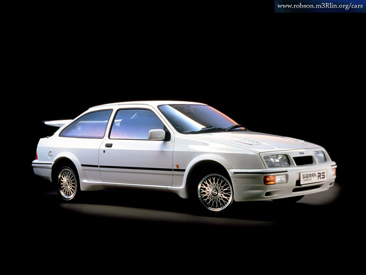 FORD SIERRA 1.3 white