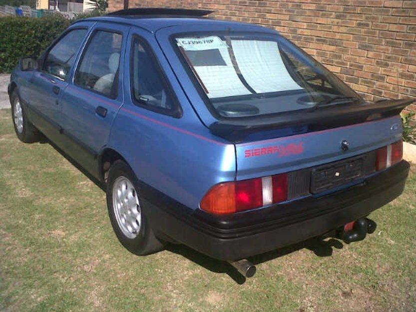 FORD SIERRA blue
