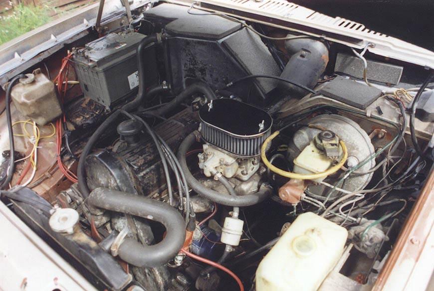 FORD TAUNUS engine