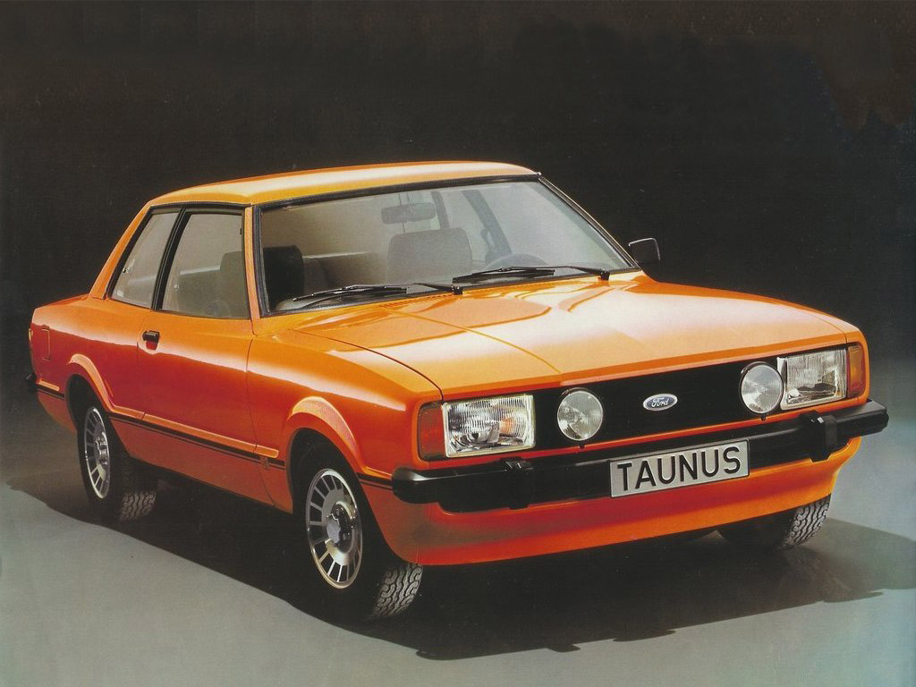FORD TAUNUS red