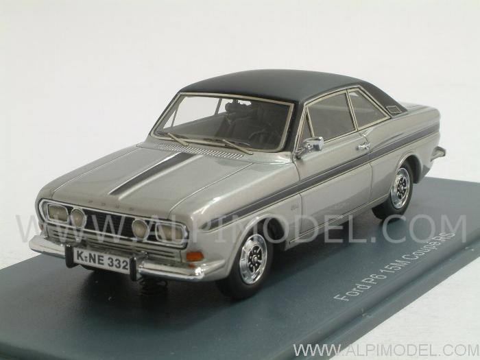 FORD TAUNUS silver