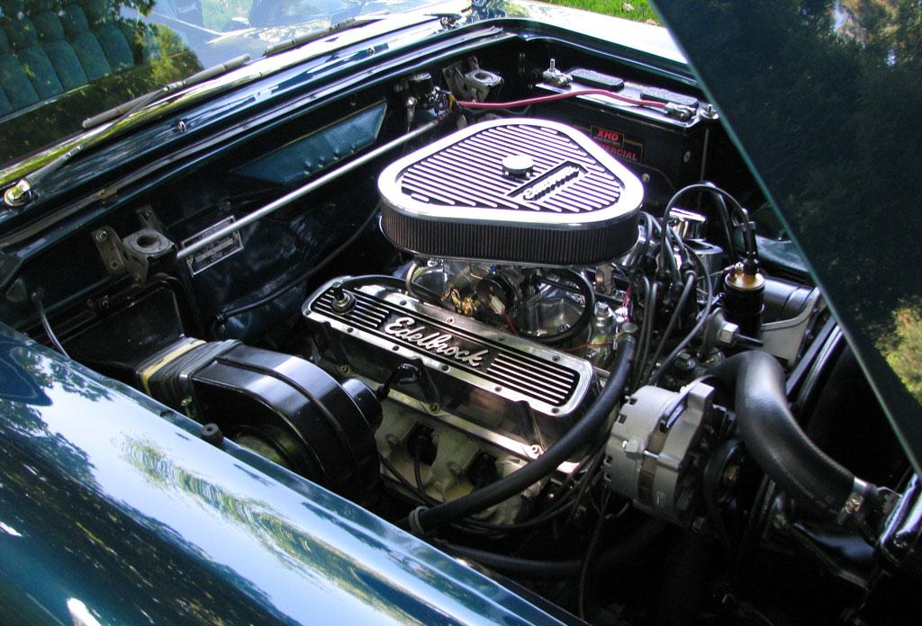 FORD THUNDERBIRD CAR engine