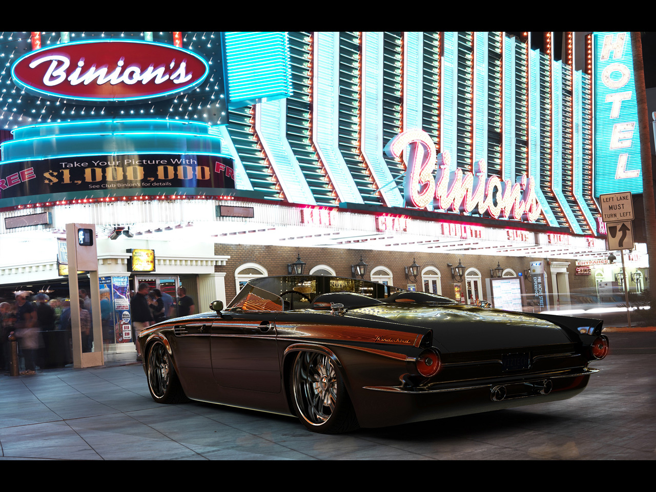 FORD THUNDERBIRD brown