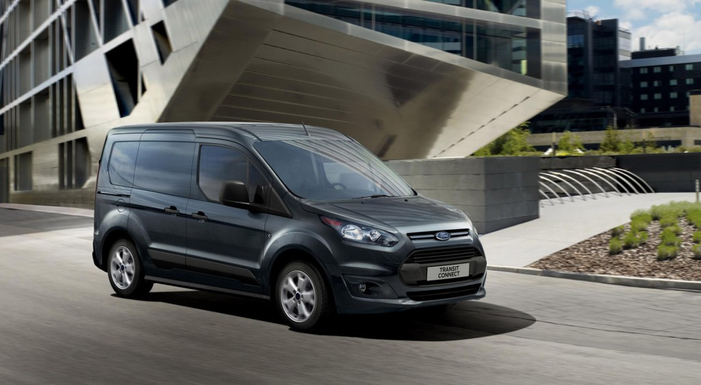 FORD TRANSIT CONNECT brown
