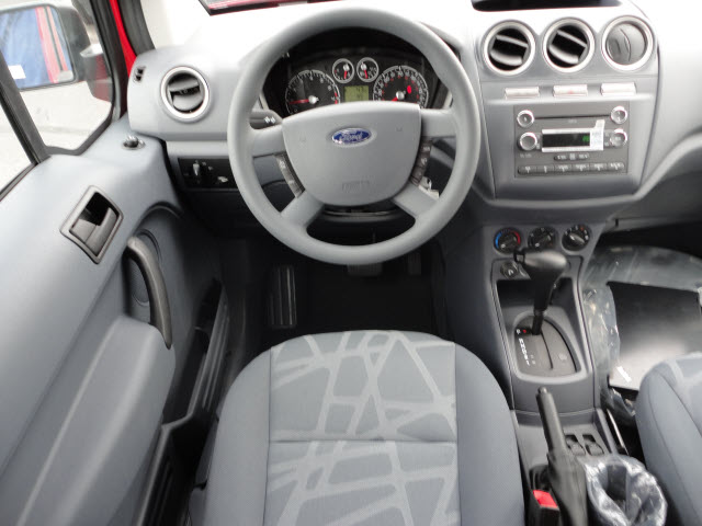 FORD TRANSIT CONNECT red