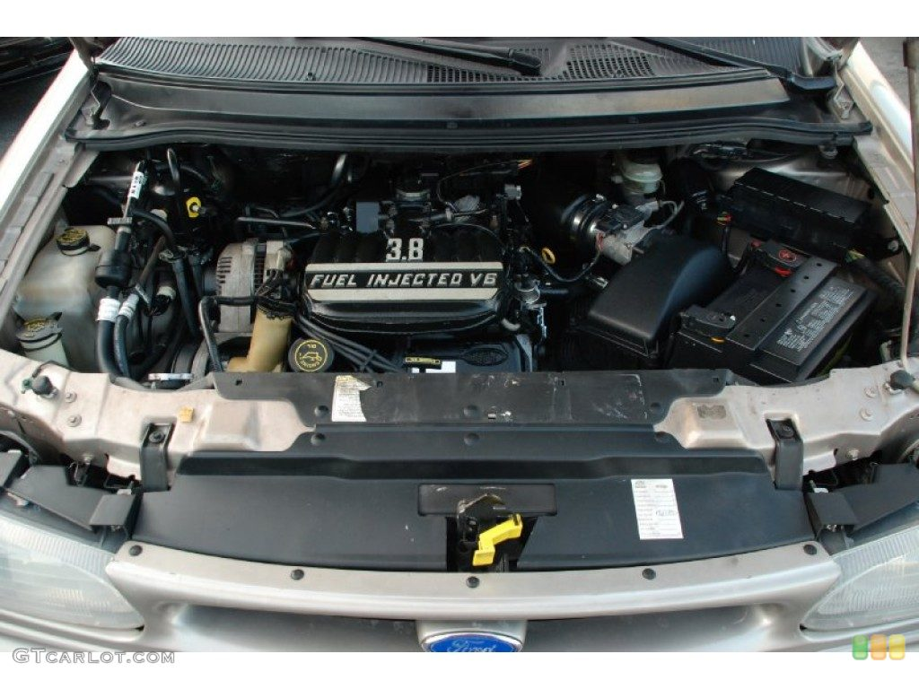 FORD WINDSTAR 3.8 engine