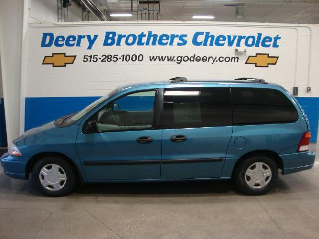 FORD WINDSTAR blue