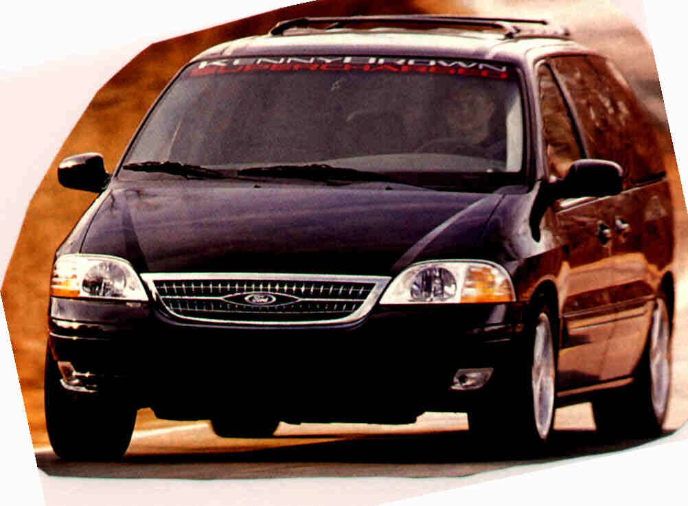 FORD WINDSTAR brown