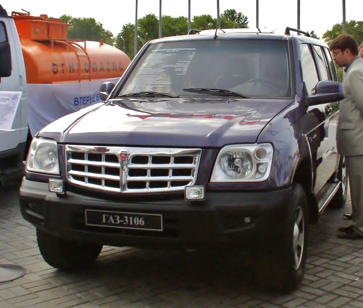 gaz wallpaper (GAZ 31061 Ataman-2 concept SUV)