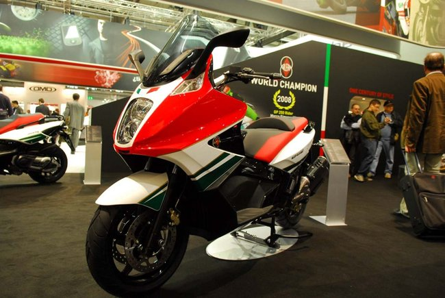 GILERA GP 800 brown