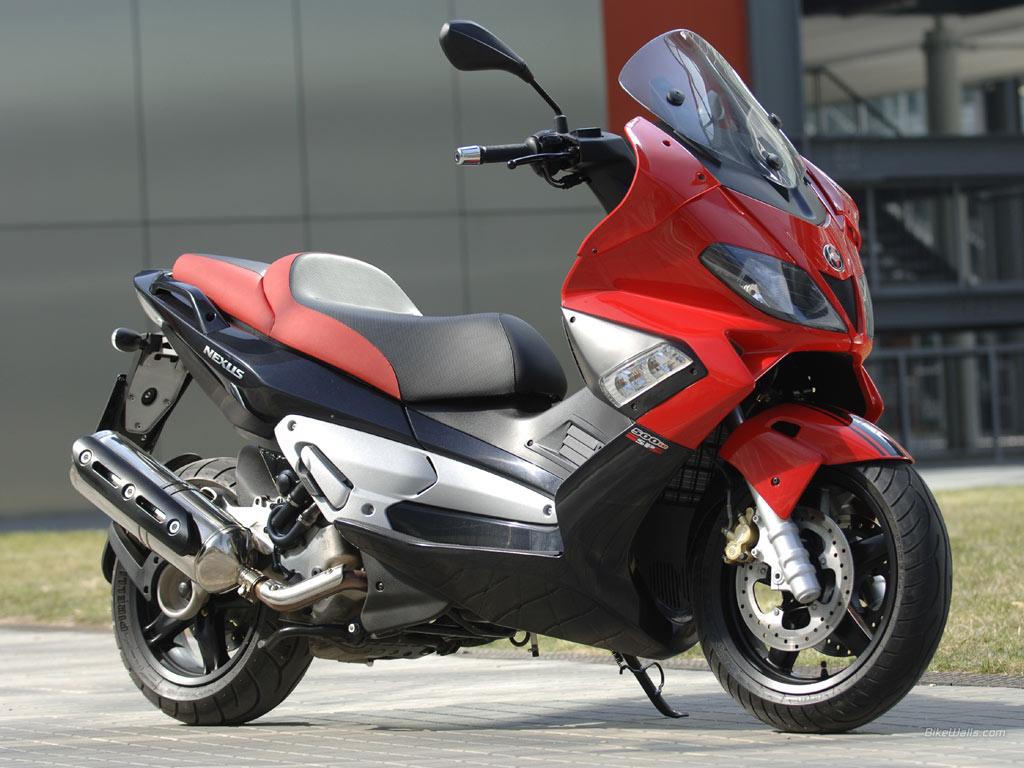 GILERA NEXUS 125 red