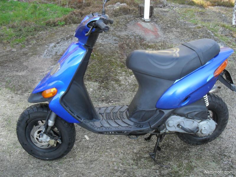 GILERA STALKER 50 blue