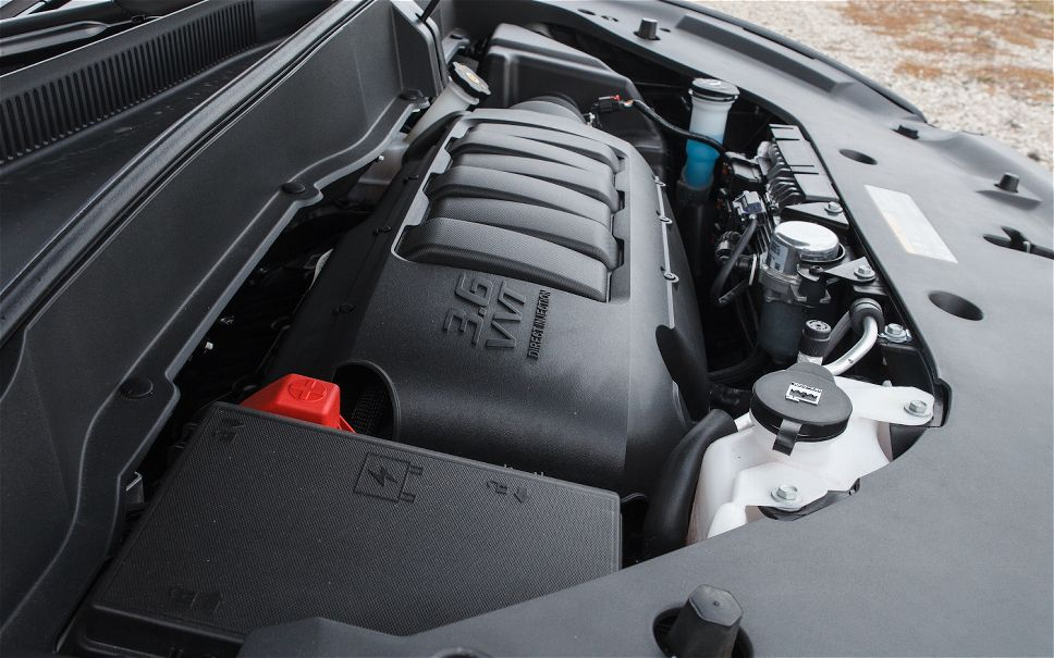 GMC ACADIA DENALI engine
