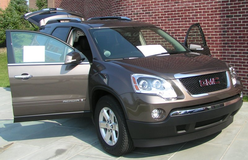 GMC ACADIA brown