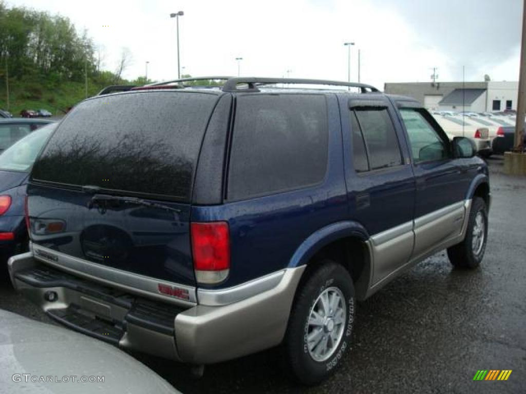 GMC JIMMY 4X4 blue