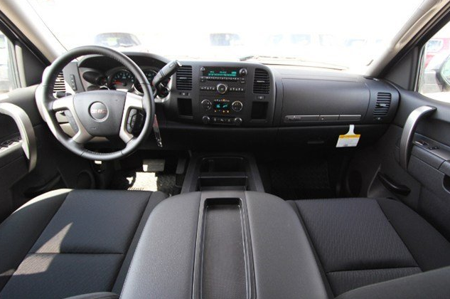 GMC SIERRA 1500 CREW CAB interior