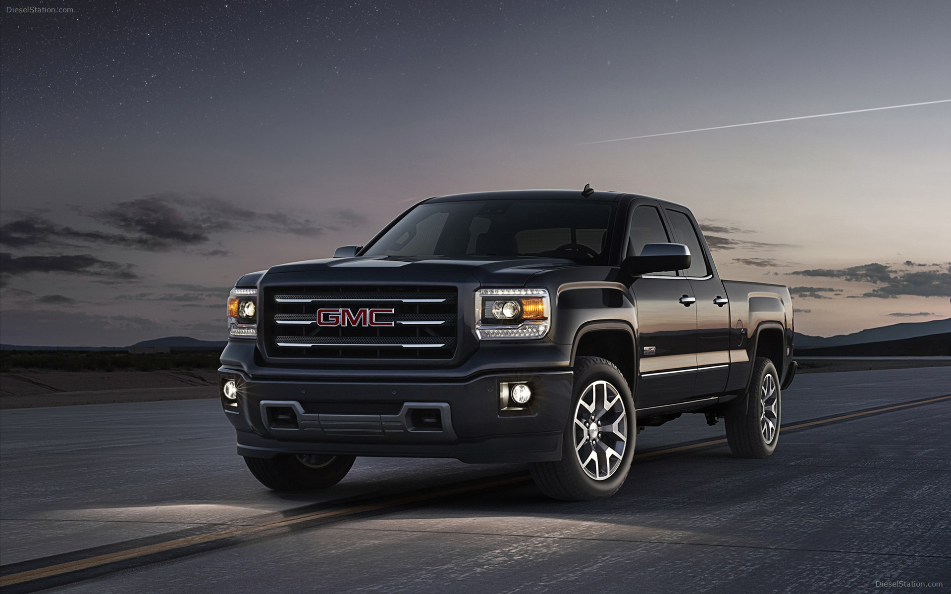 GMC SIERRA 1500 black