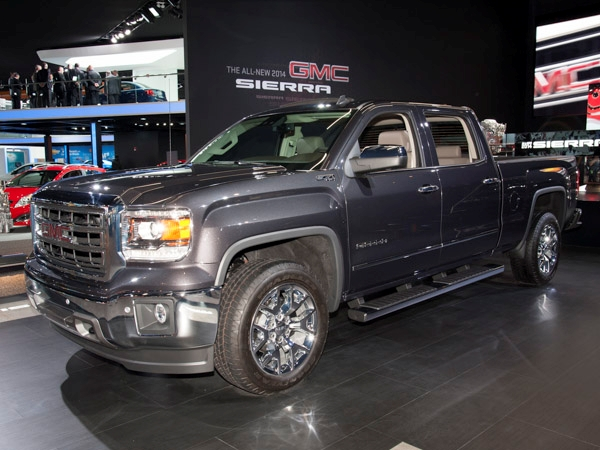 GMC SIERRA 1500 blue