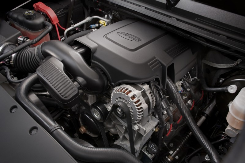 GMC SIERRA 1500 engine