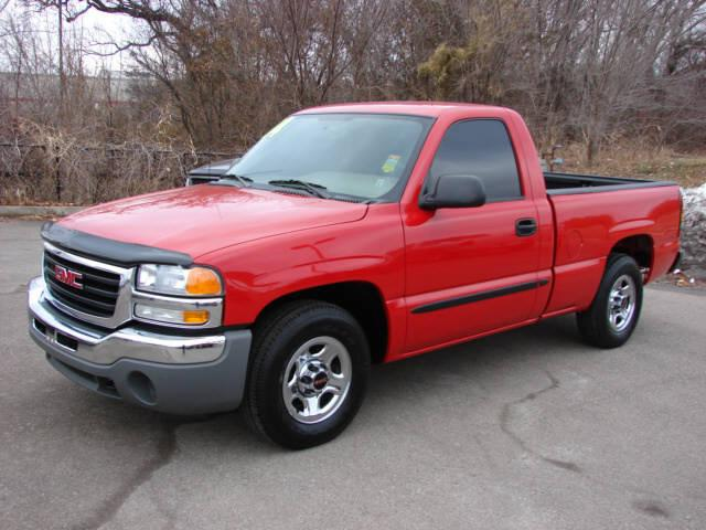 GMC SIERRA 1500 red