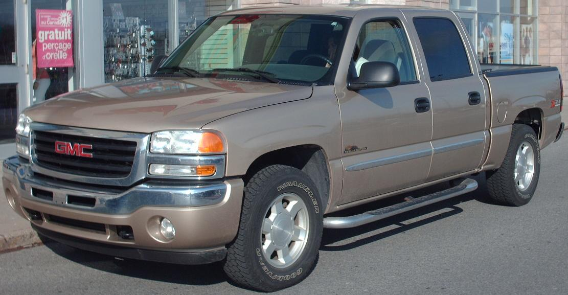 GMC SIERRA brown