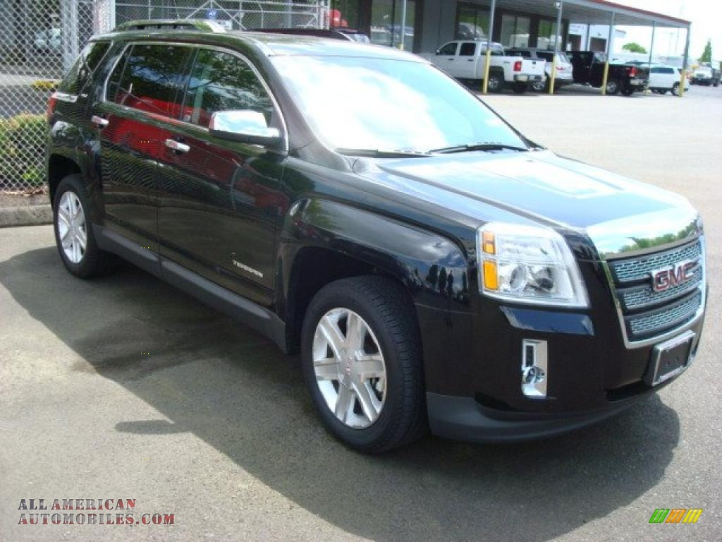 GMC TERRAIN AWD black