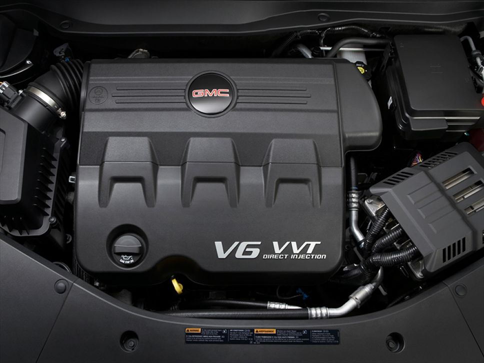 GMC TERRAIN AWD engine