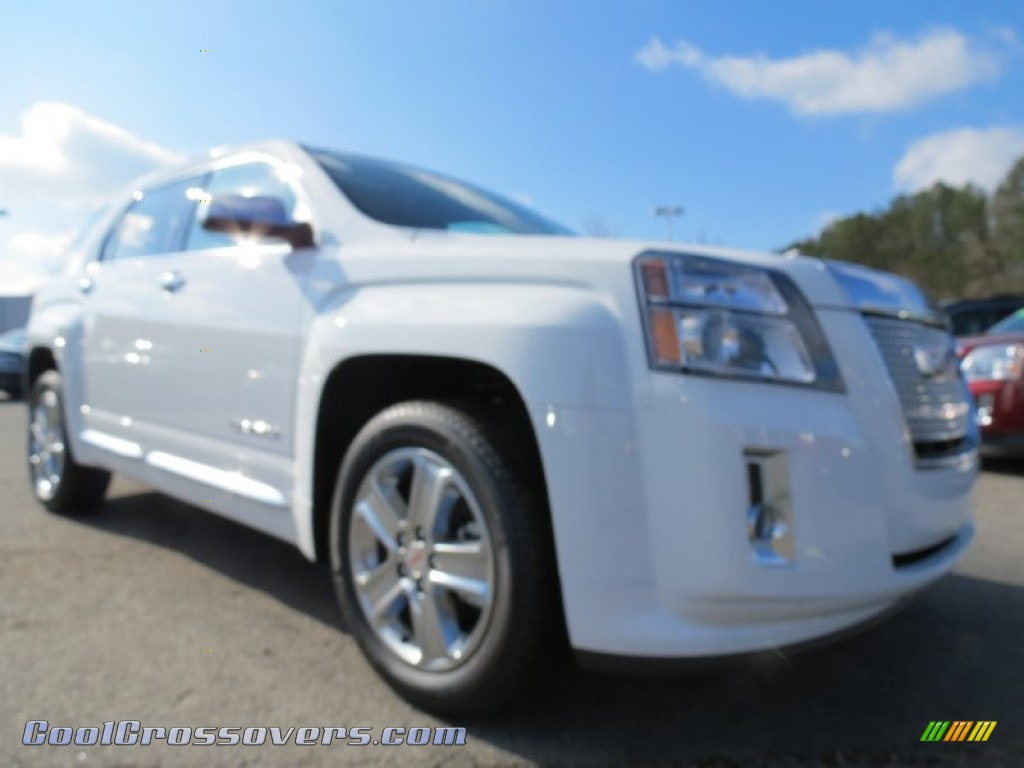 GMC TERRAIN AWD white