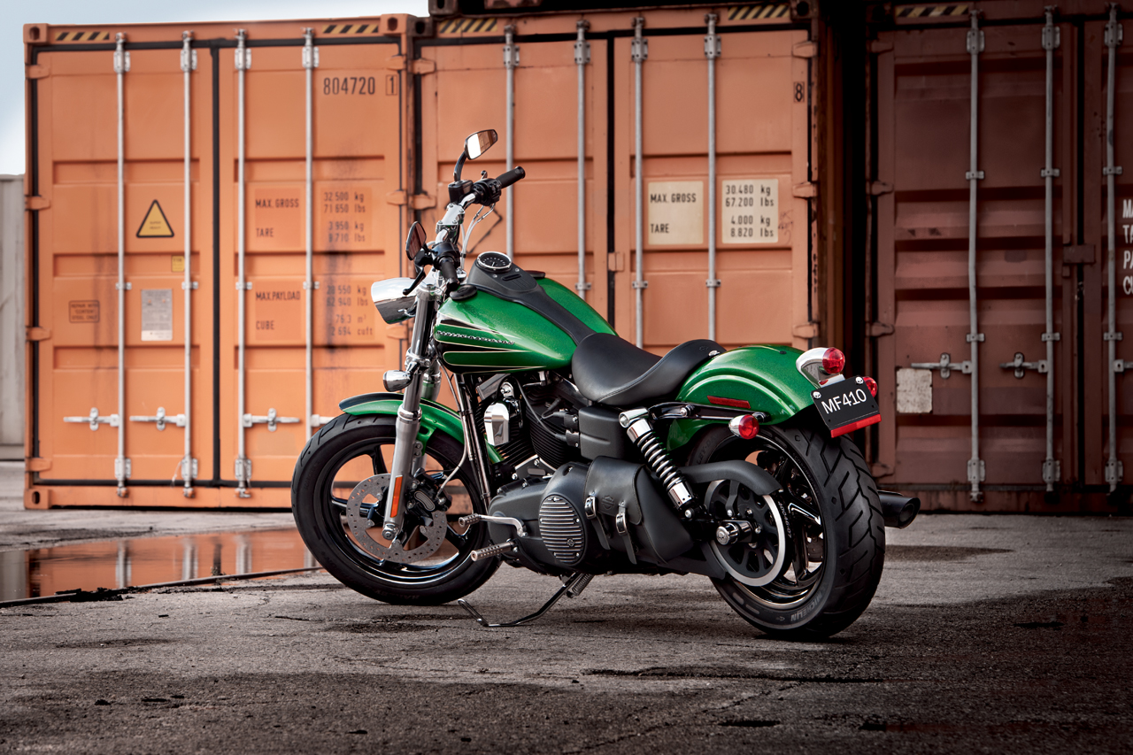 HARLEY-DAVIDSON BAD BOY green