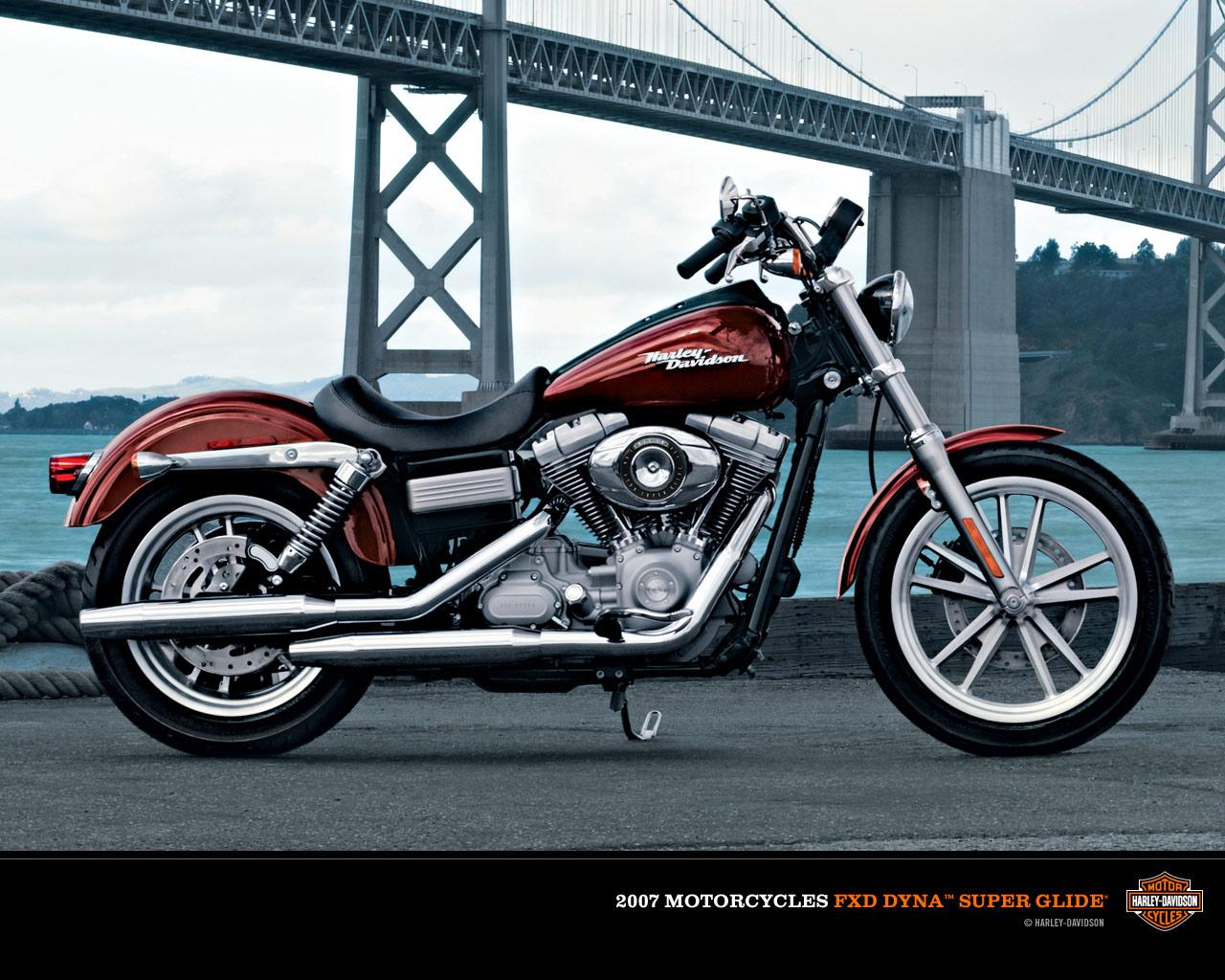 harley-davidson wallpaper (Harley-Davidson Dyna)