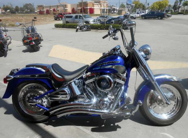 HARLEY-DAVIDSON FLSTFSE SCREAMIN EAGLE FAT BOY black