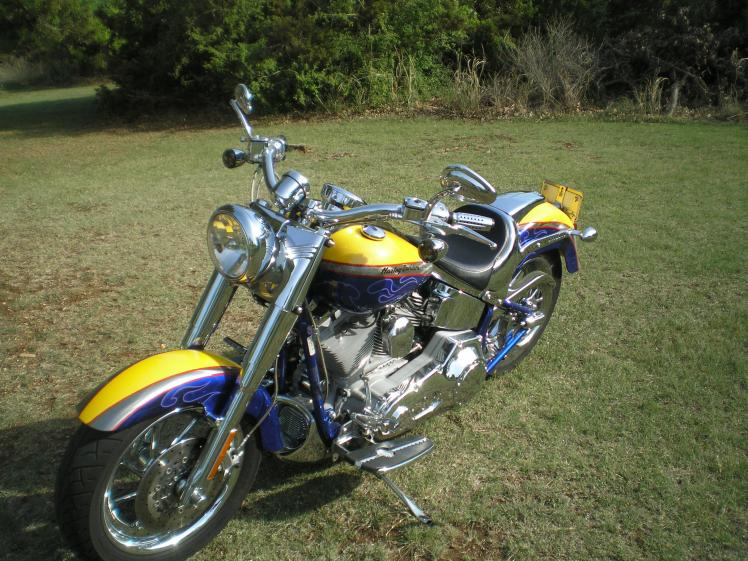 HARLEY-DAVIDSON FLSTFSE SCREAMIN EAGLE FAT BOY brown