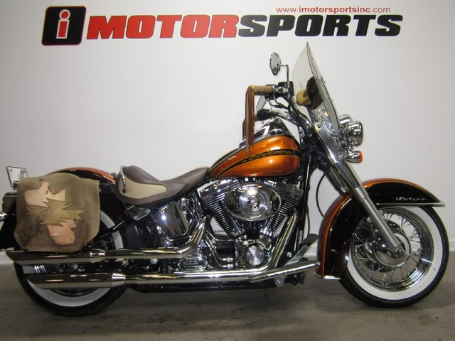 HARLEY-DAVIDSON SOFTAIL brown
