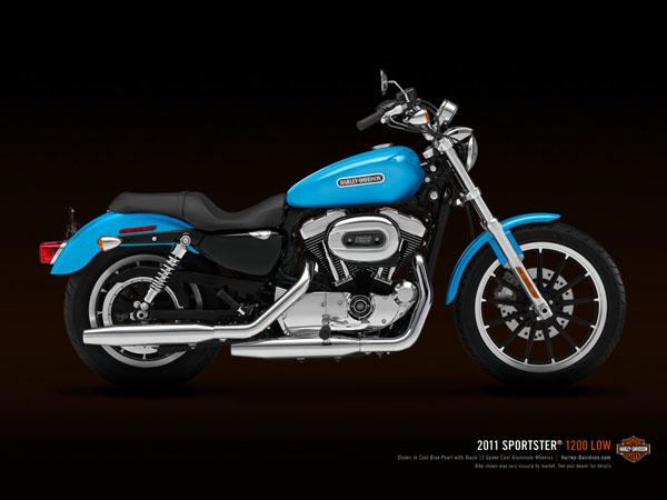 HARLEY-DAVIDSON SPORTSTER blue