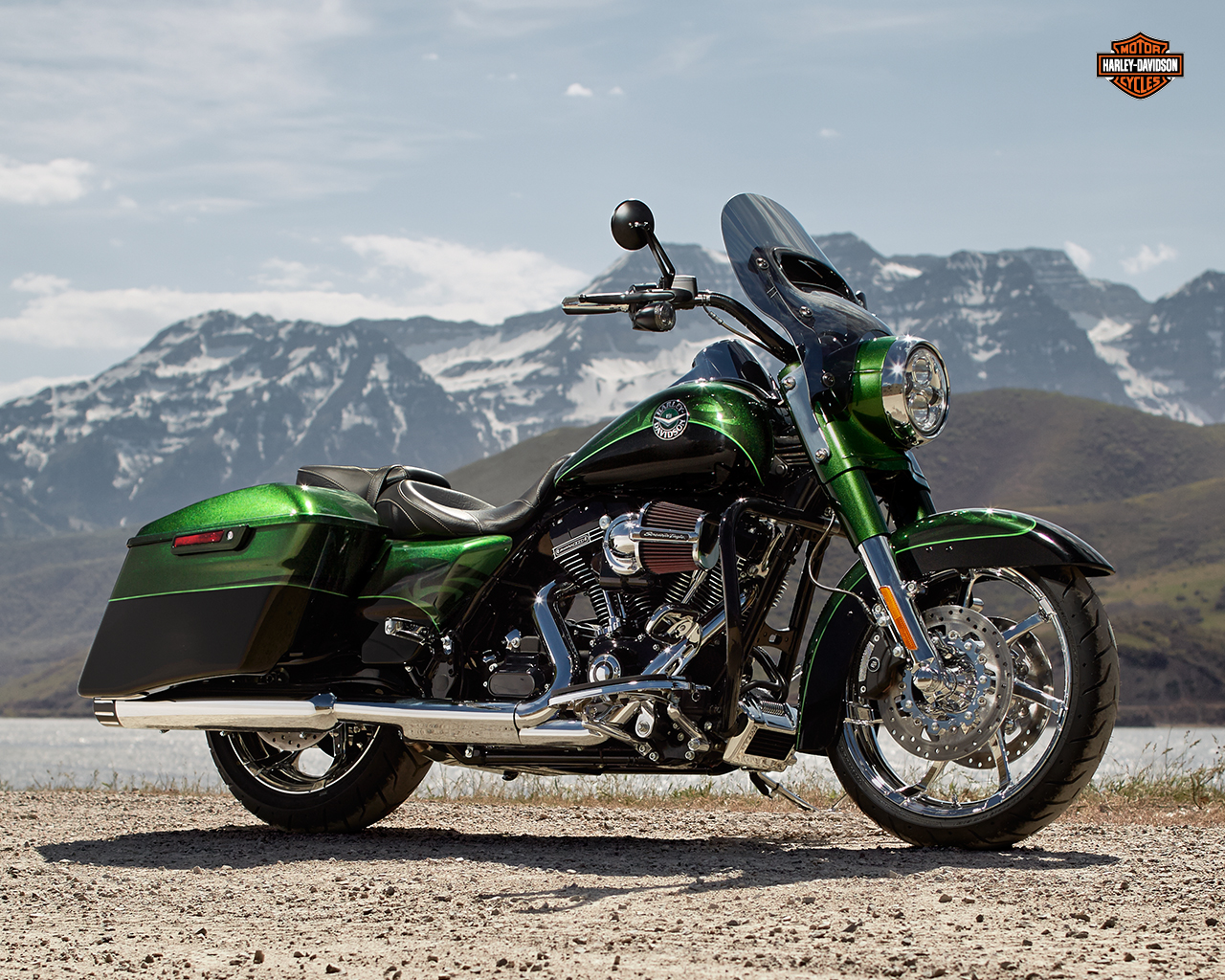 harley-davidson wallpaper (harley-davidson CVO Road King)